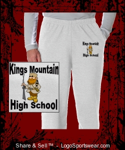 Men's KMHS Sweats Design Zoom
